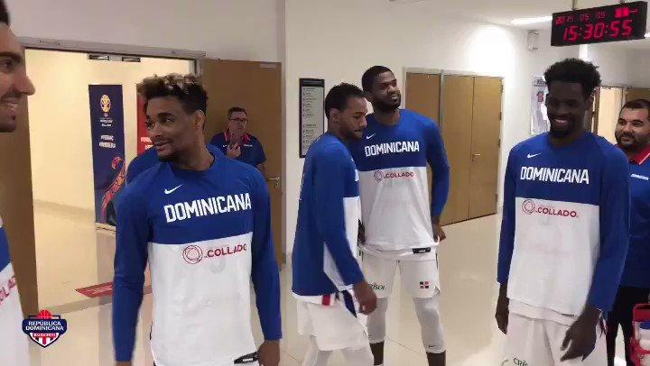 Listos para el último baile. • #VamosDOM🇩🇴 #DominicanaGotGame #FIBAWC #JetBlueAerolíneaOficial