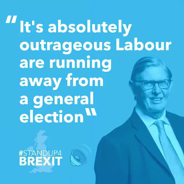 """""""There is no justification for that extension. It's costing one billion pounds a month for the arrogance that is being demonstrated by trying to defy the referendum outcome"""" @BillCashMP 🔊 #StandUp4Brexit"""