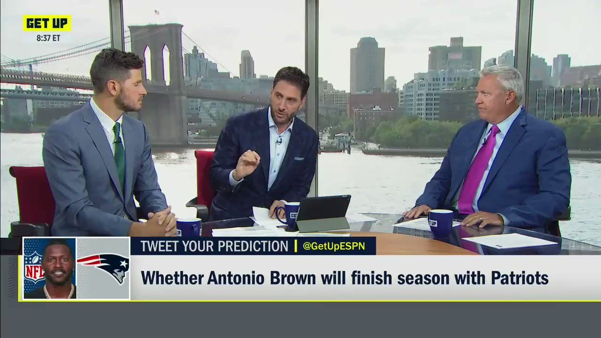 ESPN's Mike Greenberg Getting Criticized For Comment About Antonio Brown