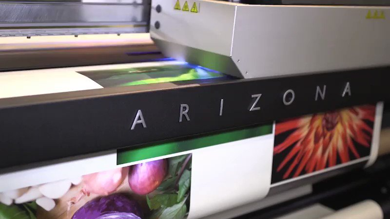 Image for the Tweet beginning: The #OceArizona1380 printer is ready