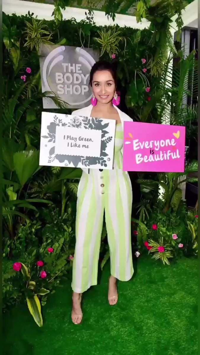 What a huge milestone @TheBodyShopIND! Congratulations on introducing @shraddhakapoor as your new brand ambassador! ❤️  The Body Shop also unveiled its first ever TVC globally! 👏  #TBSAmbassador #TBSNewFace #ActivistsAtHeart #EthicalBeauty #TBSonTV #CrueltyFreeBeauty  @skycommn
