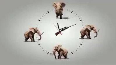 "#ThoughtOfTheDay from @RickyGervais.""#Elephants will be extinct by 2030 if the ivory trade remains the same. And for what? For trinkets for MORONS to own? That's fucking mental!""#BeKindToElephants ~ Only an #Elephant needs #ivory!!!Video by @action4ifaw"
