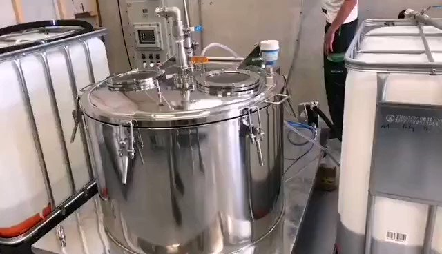 A customer site running video of PPTD.  #hempoilextract #cbdoilextraction #ethanolextraction #spinningmachine #centrifugeuse #extractioncentrifuge