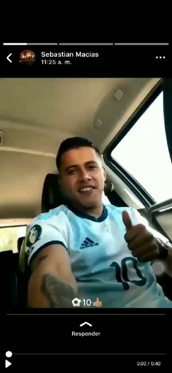 DIM defender Sebastian Macias recorded himself drink driving in Medellin and uploaded it to his WhatsApp status. Today DIM confirmed he has left the club for personal reasons. If he needs help I hope he gets it but that was ill-advised to say the least.