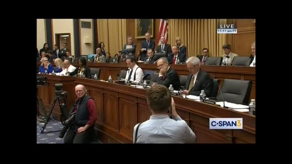 """When will the Judiciary Committee get to question IG Horowitz about his scathing Comey report?  @RepJerryNadler: """"I'm not sure which report you're referring to... I don't know. We haven't discussed that.""""  Dems would rather focus on impeachment and taking our guns."""