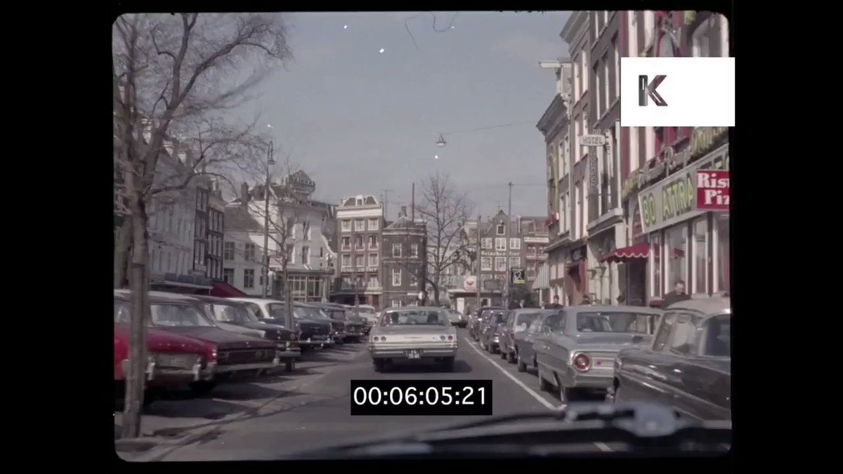 Video I came across of someone driving along Rembrandtplein in Amsterdam in the 1960s and me cycling along the same street this year. Which do you prefer? Radical change in cities is possible!