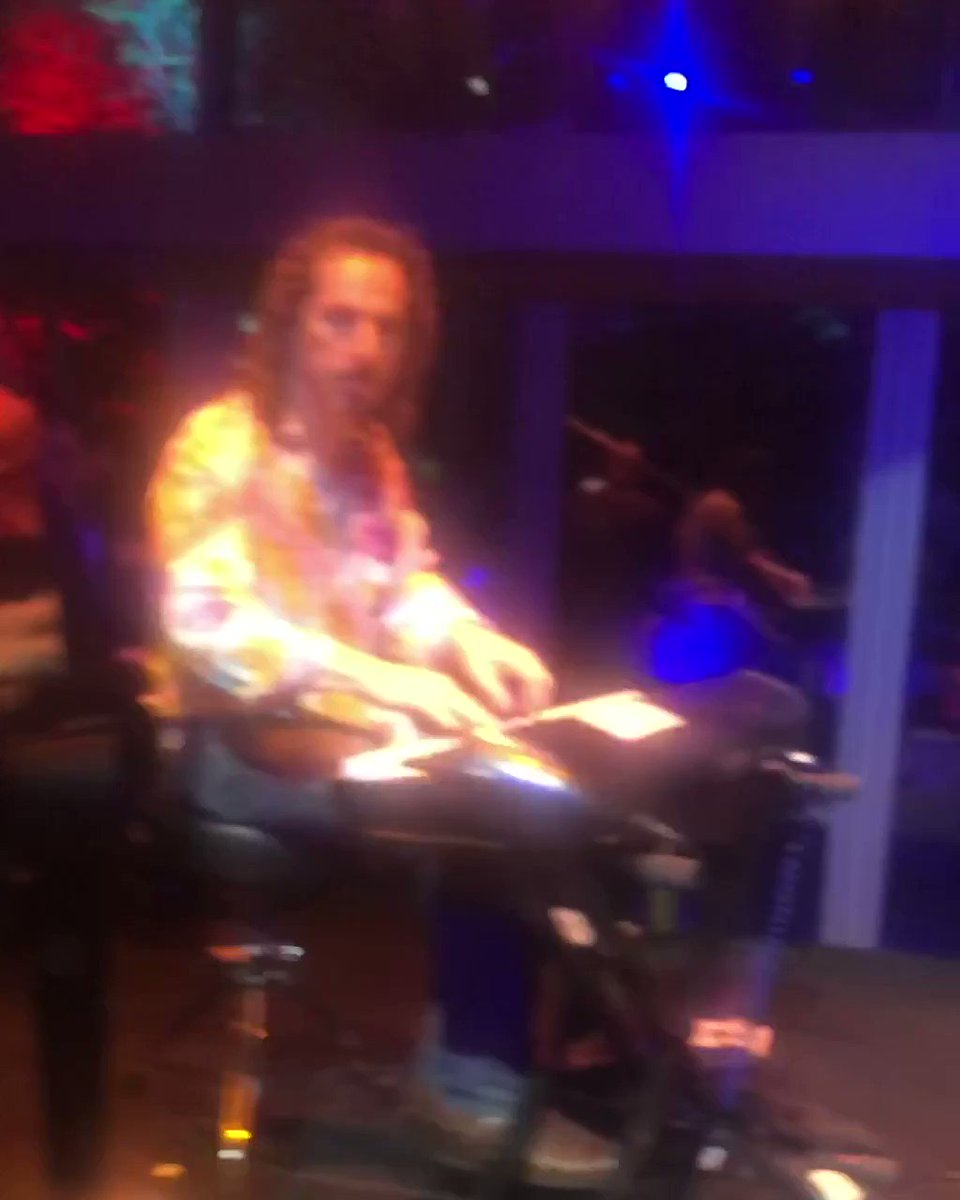 Got to jam with two all time LEGENDS OF ROCK! #TheDoors #RobbyKrieger #JohnDensmore #KPFK