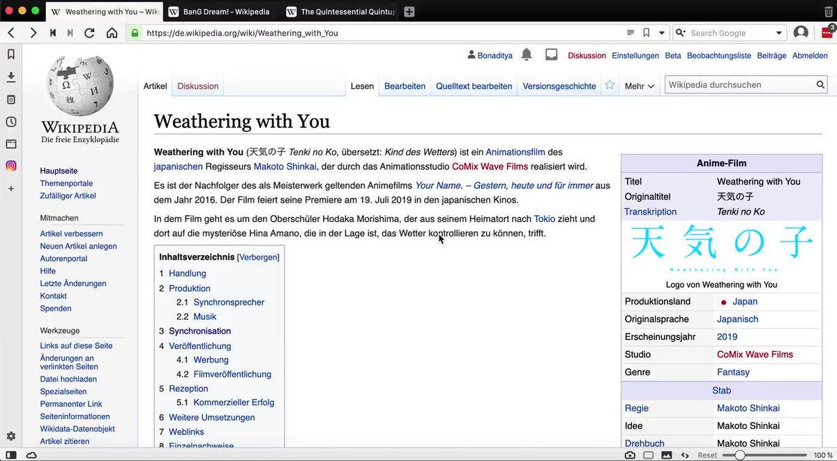 Selain Wikipedia bahasa Indonesia, Inggris, maupun bahasa daerah di Indonesia, kamu suka membaca Wikipedia bahasa apa saja? 🤔  Kalau wikimin suka berkunjung ke Wikipedia bahasa Jerman, Jepang, dan Rusia. 🙏 https://t.co/8MFC8JCMdN