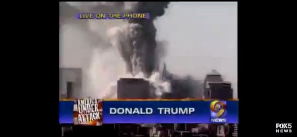 And here's Trump talking ON #September11 about how his building is now the tallest one in Manhattan now that the #twintowers were gone.  #NeverForget #WorldTradeCenter #NeverForgotten #remember911 #911Memorial #UnitedWeStand