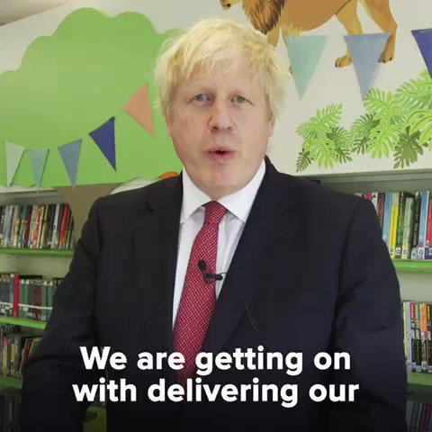 We're announcing another 30 free schools for the UK in areas that particularly need them.We are getting on with our priorities.The priorities of the people.