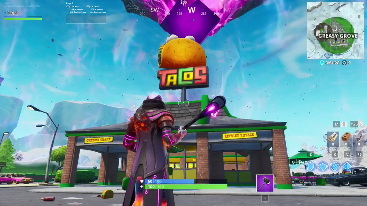 Taco Event in Greasy Grove! From the looks of it, it happens quite often as well!