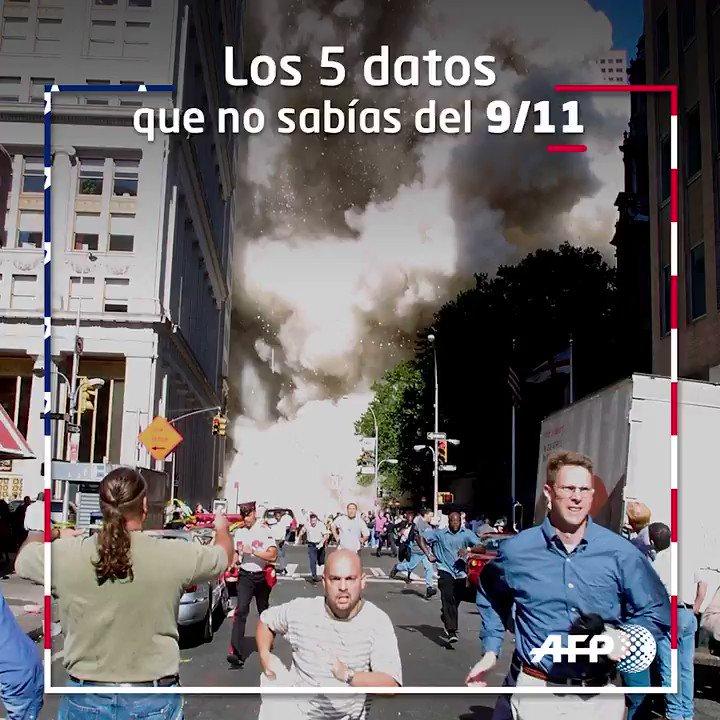 #1DíaComoHoy el mundo cambió para siempre.¿Qué estabas haciendo hace 18 años el 11-S cuando viste la caída de las Torres Gemelas?