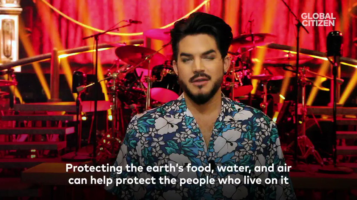 See Queen + @adamlambert live in NYC & help our Oceans! 🌊 Join us & @GlblCtzn in calling on world leaders to take a stand for our oceans & #beatplasticpollution! Download the app📱to see us play live at the #GlobalCitizen Festival on Sept 28th in NYC ➡️ globalcitizen.org/oceans