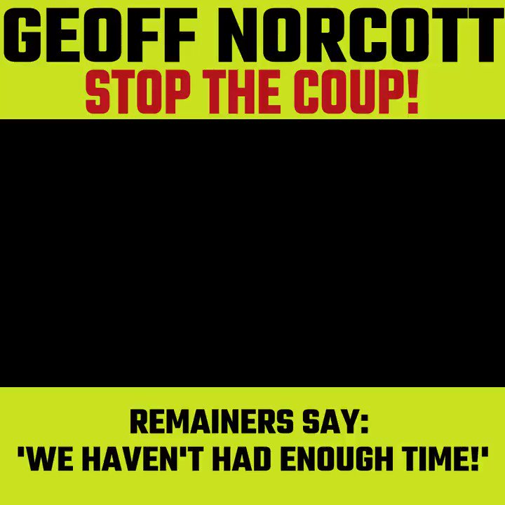 Meanwhile in the U.K.....a very British coup....
