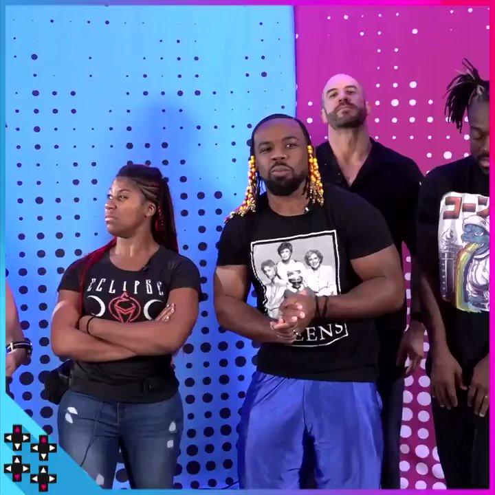 .@TrueKofi, @WWEEmberMoon, @WWECesaro & @MmmGorgeous name their #WWEUniverse team!!! #UUDD #WWEUniverseSuperstarShowdown https://www.youtube.com/watch?v=sw_Iv16leGU&sf219249732=1…