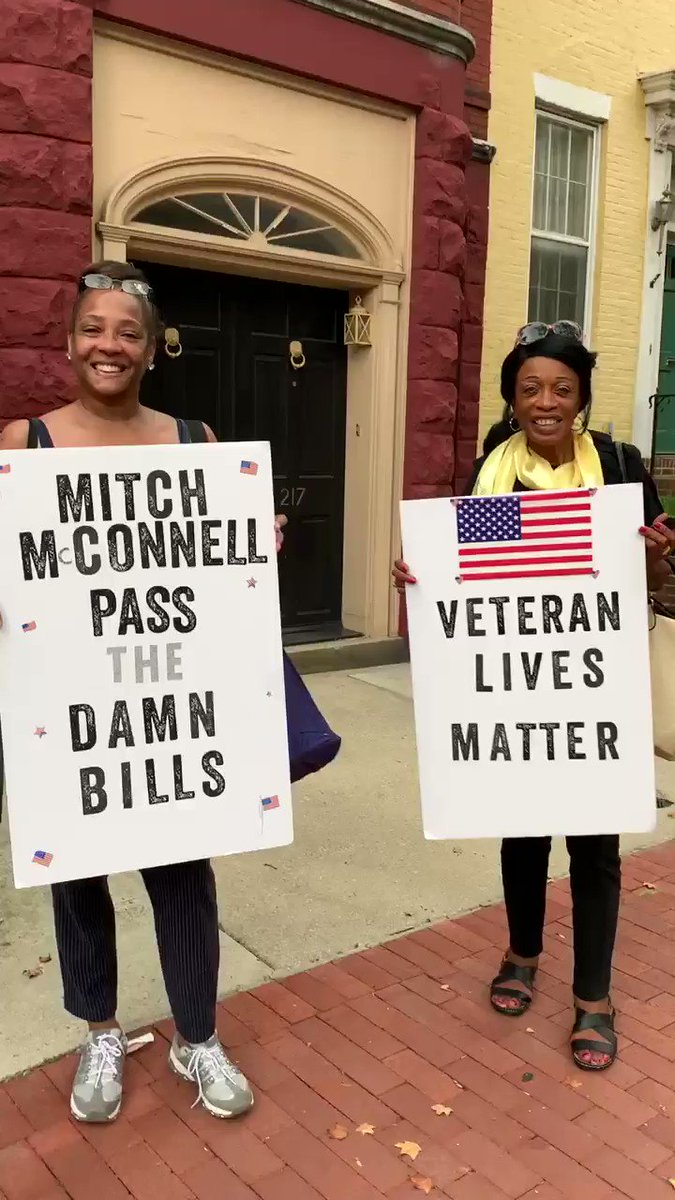 #passthedamnbills #veteranlivematter #weleavewhenTrumpleaves ✊🏽✊🏿✊🏻 @Fired_Soon @therealkevinTE