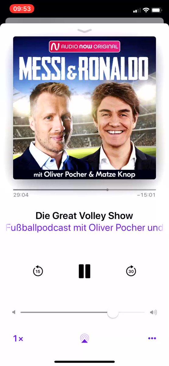 Messi & Ronaldo - neue Folge! Aufgenommen beim Junggesellenabschied in Tansania @oliverpocher @matzeknop ➡️ Die Great Volley Show 🎧 AudioNow: audionow.de/podcast/messi-… 🎧 Spotiy: open.spotify.com/episode/1lari4… 🎧 Apple: podcasts.apple.com/de/podcast/mes…
