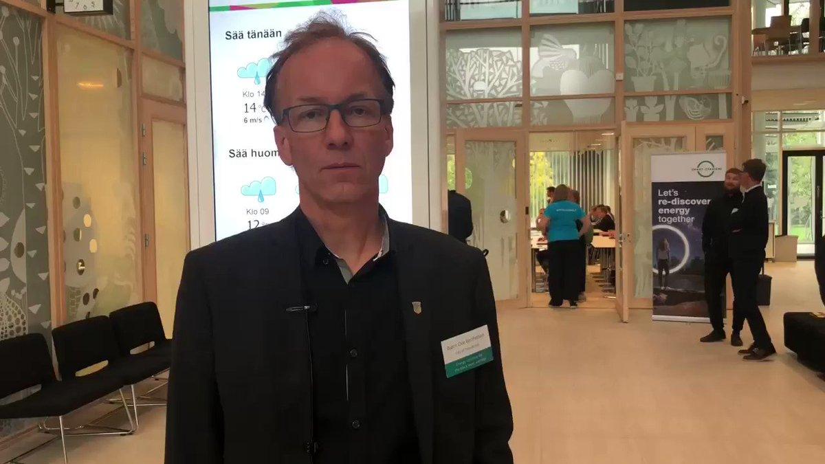 Image for the Tweet beginning: Bjørn Ove Berthelsen of @Trondheim