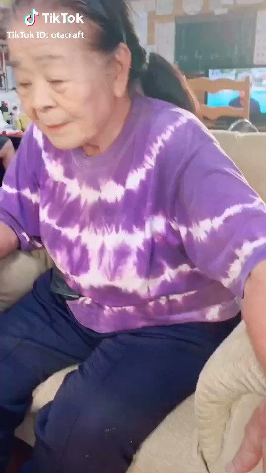 おばあちゃん原作知らないのに声マネが超上手い😂w