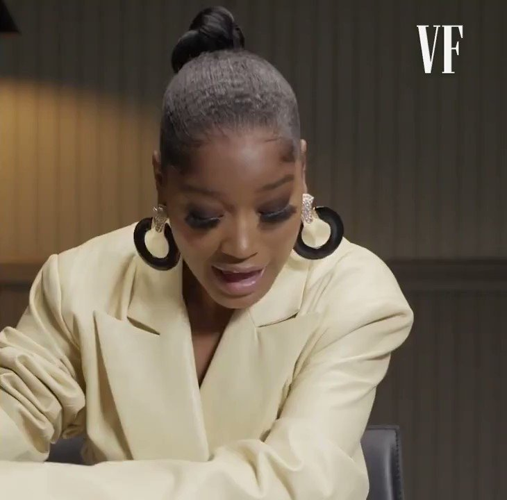 can you believe it's only been a year since @KekePalmer gave us the defining short film of our time
