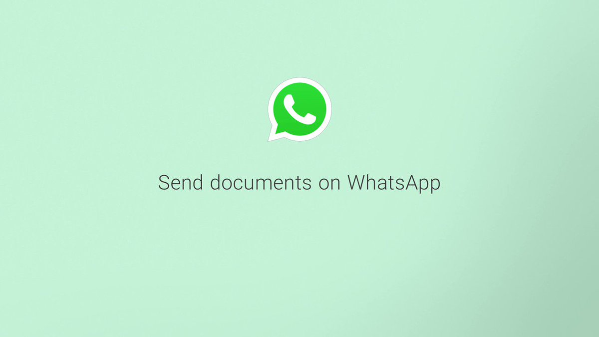 Need to send an email but the attachment is too large? Try using WhatsApp instead, where you can send files of up to 100 MB. #WhatsAppTricks