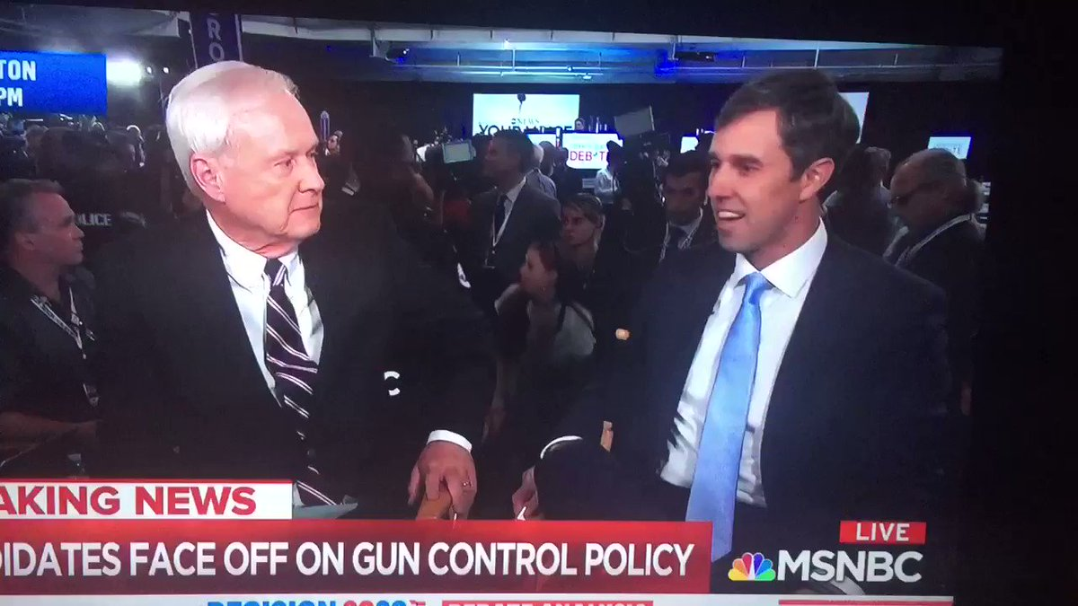 """""""The NRA is no match for @MomsDemand and @AMarch4OurLives,"""" @BetoORourke"""