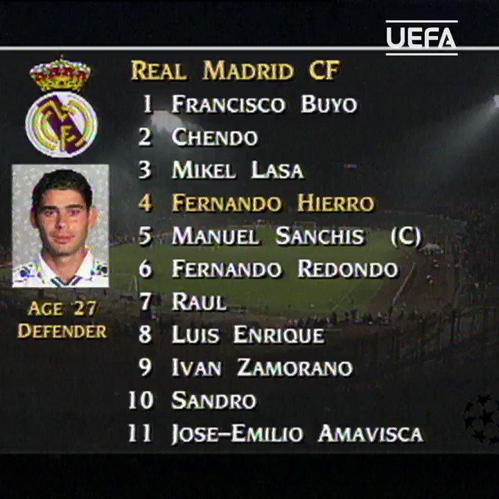 ⚪️ Raúl González made his Real Madrid debut #OTD in 1995... ⚽️7⃣1⃣ 👕1⃣4⃣2⃣ 1⃣9⃣9⃣8⃣🏆 2⃣0⃣0⃣0⃣🏆 2⃣0⃣0⃣2⃣🏆 #UCL   @realmadrid