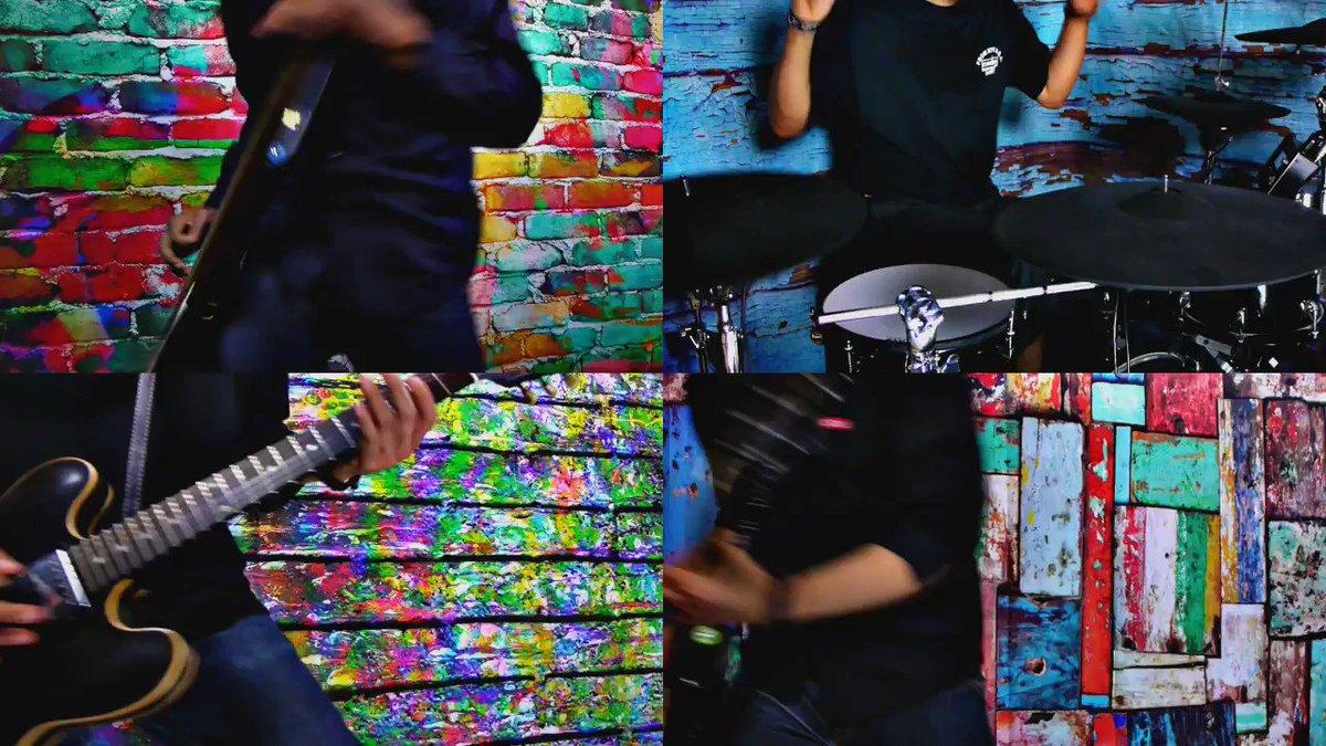 今週の動画ですーELLEGARDEN 1人バンド29作目!「A Song For James」を全パート演奏してみました!這い上がろうと頑張ってる人に寄り添う歌ですフル↓
