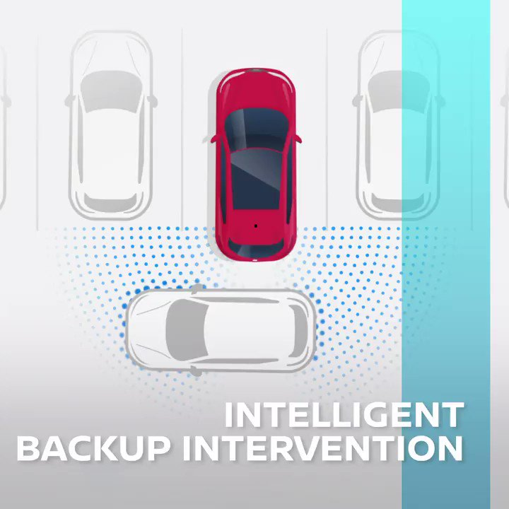 With #Nissan #IntelligentMobility, we always have your back, literally. Nissan Intelligent Backup Intervention steps in when an unseen obstacle is detected while driving in reverse. #FutureFriday