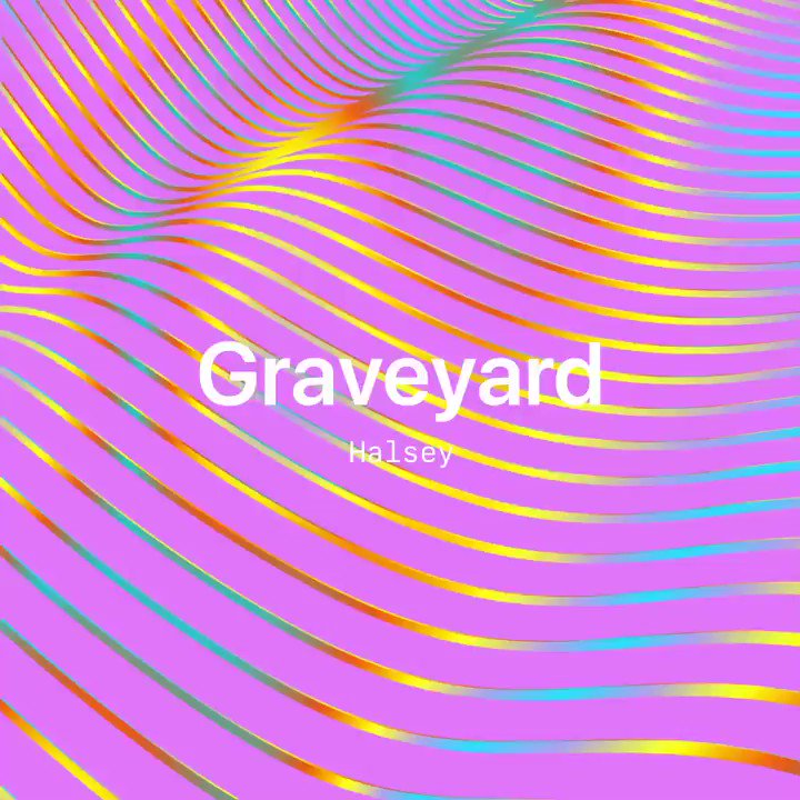 """my new new new single """"Graveyard"""" is on the new #NewMusicDaily playlist 🌸 on @applemusic, apple.co/HalseyOnNMD"""