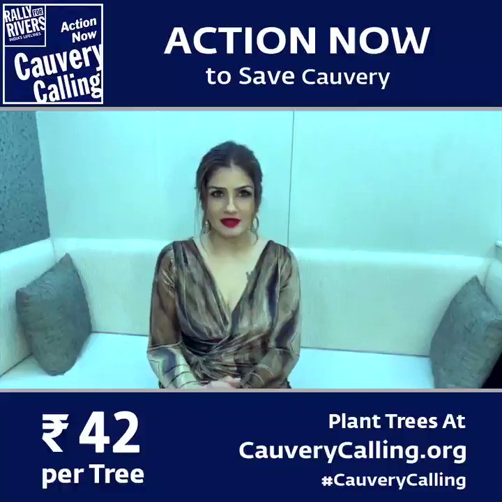 The great rivers of our country are dying . We are responsible for their destruction , its time to put things right ... lets begin by supporting the Cauvery Calling project.. #CauveryCalling
