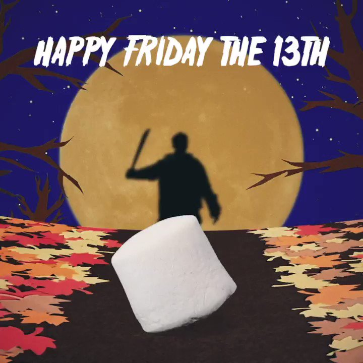 Let's try and keep the chocolate on the inside today, shall we? 😳🔪#Fridaythe13th