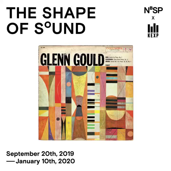 Great news! The Shape of Sound is coming to the KEXP Gathering Space, Sept. 20th, 2019 through Jan. 10th, 2020. 100 non-representational abstract album covers by 20 prominent mid-20th century designers. 472 1st Ave N, Seattle, WA 98109. Many thanks to @bycivilization & @kexp