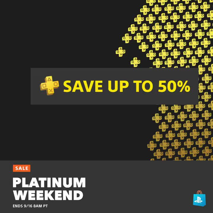 Go platinum at PS Store with savings up to 50% for Plus members: play.st/32LqvOB