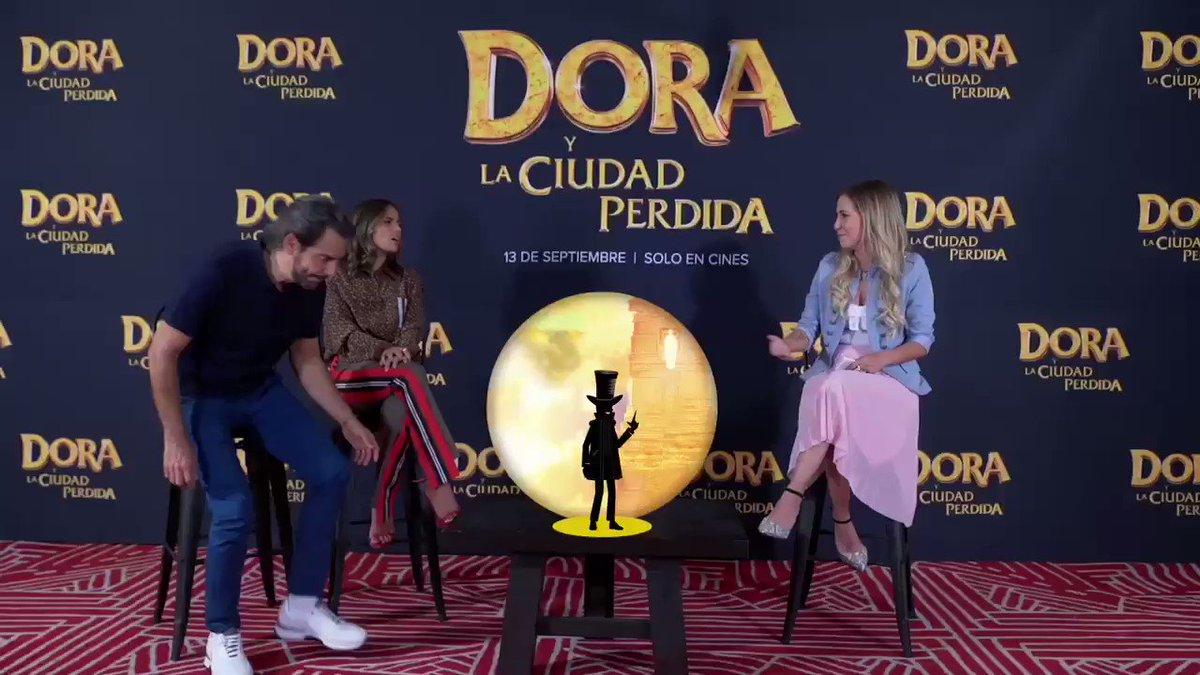 No se pierdan el especial de #DoraYLaCiudadPerdida con @EugenioDerbez @duendepregunton y @gaby_cam @Depelicula40