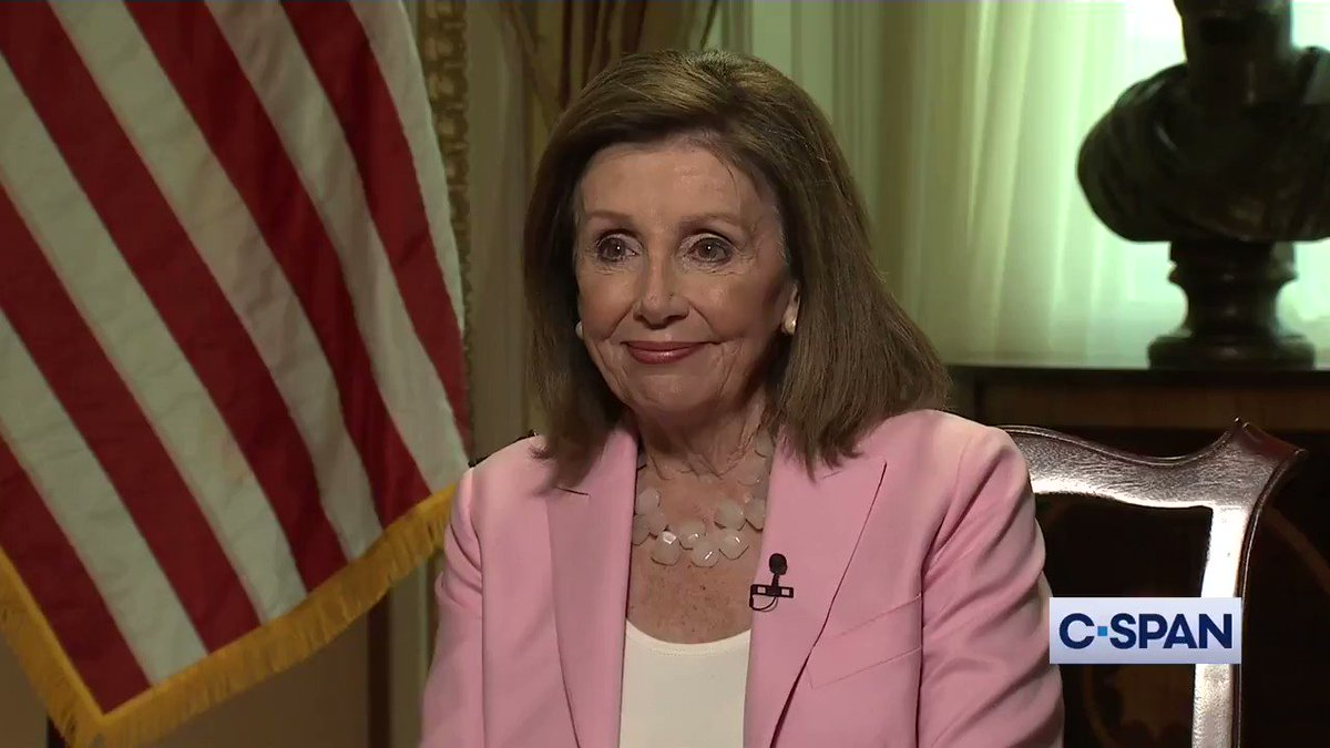 Q: Sometimes [Trump has] called you Nervous Nancy. What do you think of that? Nancy Pelosi: Not much. I dont care what he says … Thats so irrelevant. Whats important are our policy differences. And we have very big policy differences. Via CSPAN