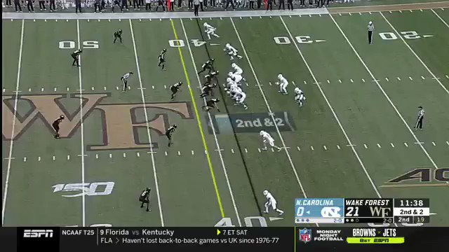 Video Of Ref During North Carolina, Wake Forest Game Went Viral