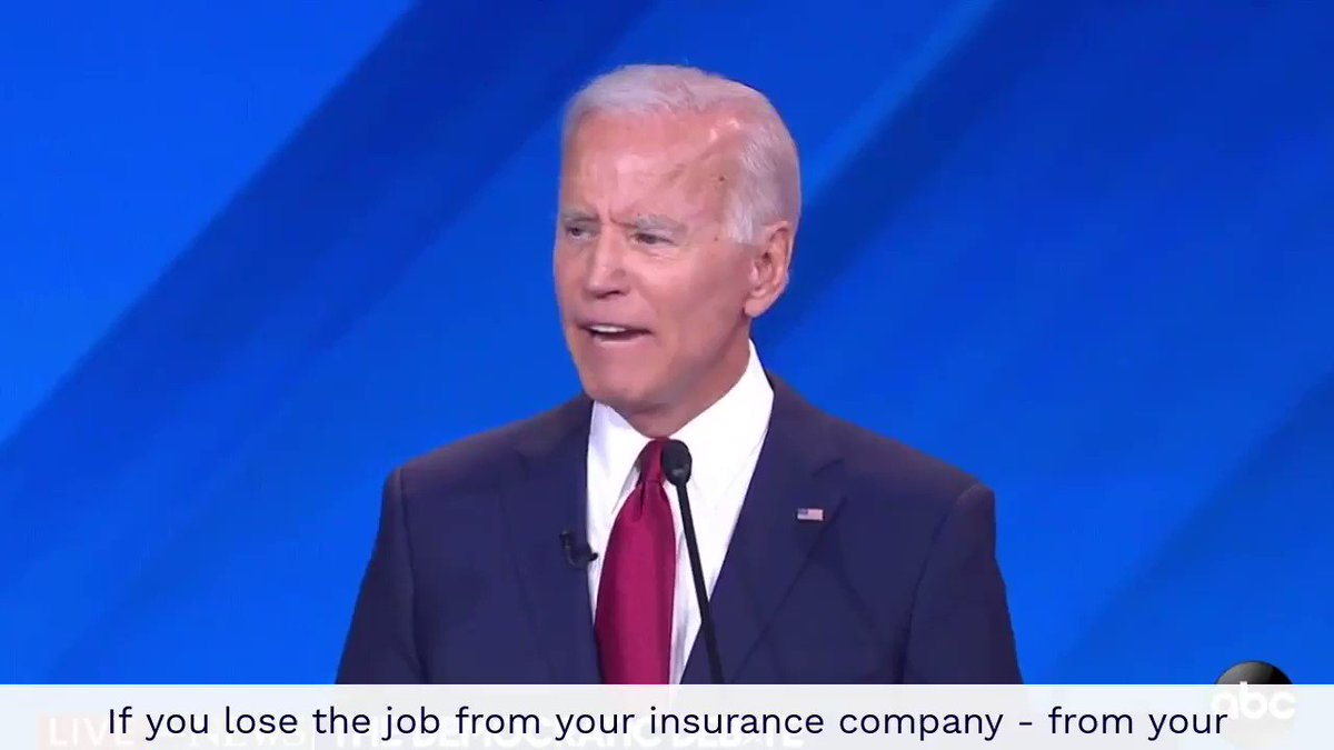 Health care is one of the most important issues in this election—we can't afford to speak out of both sides of our mouths. You can't have it both ways, Mr. Vice President.