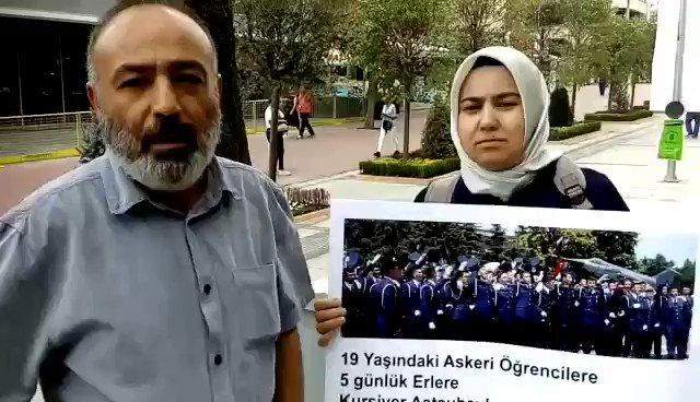 Faşizmin mizah anlayışının sınırı yok. Yanıma beni ziyarete gelen Hava Harp Okulu Öğrencisi annesi Melek Çetinkaya elindeki dövizi açtığı için gözaltına alındı. Akp demokrasisi...Birleşe birleşe direne direne kazanacağız.