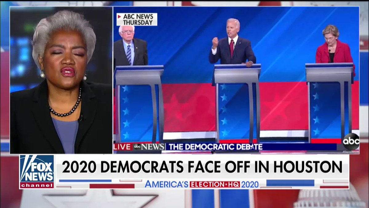 Part 1 with Donna Brazile on the recent Dem debate and 2020.