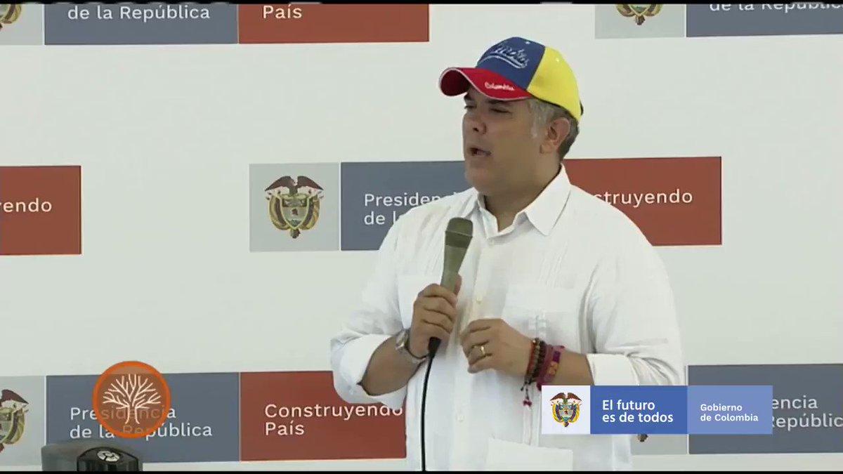 Este Gobierno tiene claro que quienes escojan el camino de la legalidad serán apoyados, pero seremos implacables con quienes quieran reincidir y amenazar al pueblo colombiano. Nosotros tenemos claro que no hacemos política con la paz. #BarranquillaConstruye