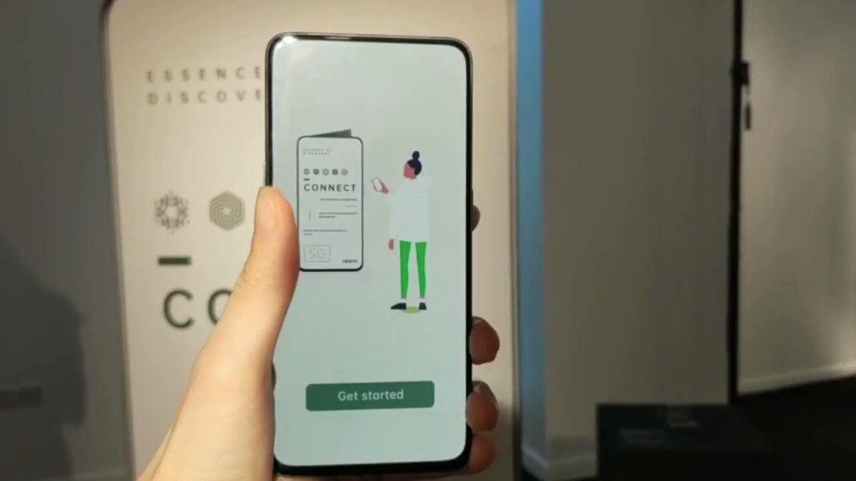 A sneak peek at our AR experience using #OPPOReno5G devices for #LDF19. RT if you want to see more! 👀