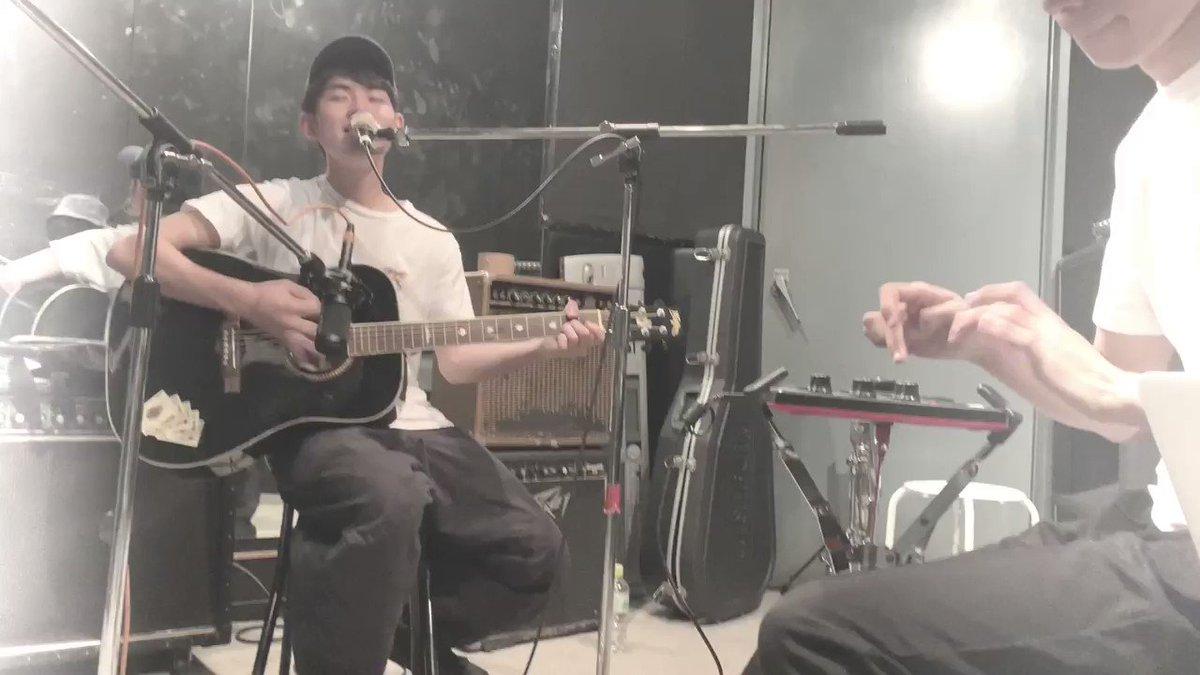 サンプリングパッドからカホンの音を出して演奏してみました!(@hirota_ryouhei )