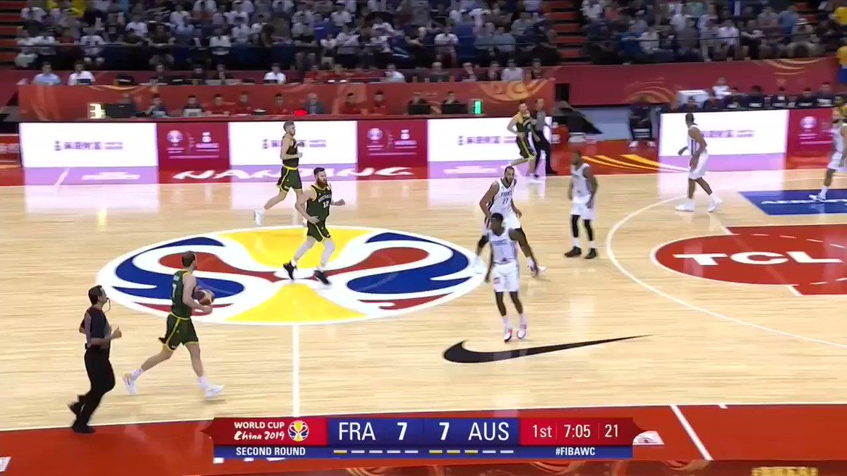 BOOMERS | Aron Baynes did it all against France in group play, dropping 21 points while providing countless game changing plays on the defensive end.  Tip-off is at 6pm on @FOXSportsAUS and @kayosports!  Subscribe➡️: http://bit.ly/2UiusHm  #GoBoomers #AustraliaGotGame #FIBAWC