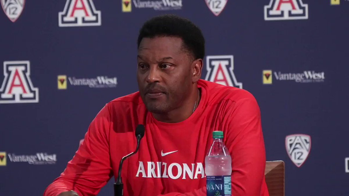 Arizona head coach Kevin Sumlin talks about Khalil Tate's performance in Saturday's win over Texas Tech and how the QB's big run changed the game