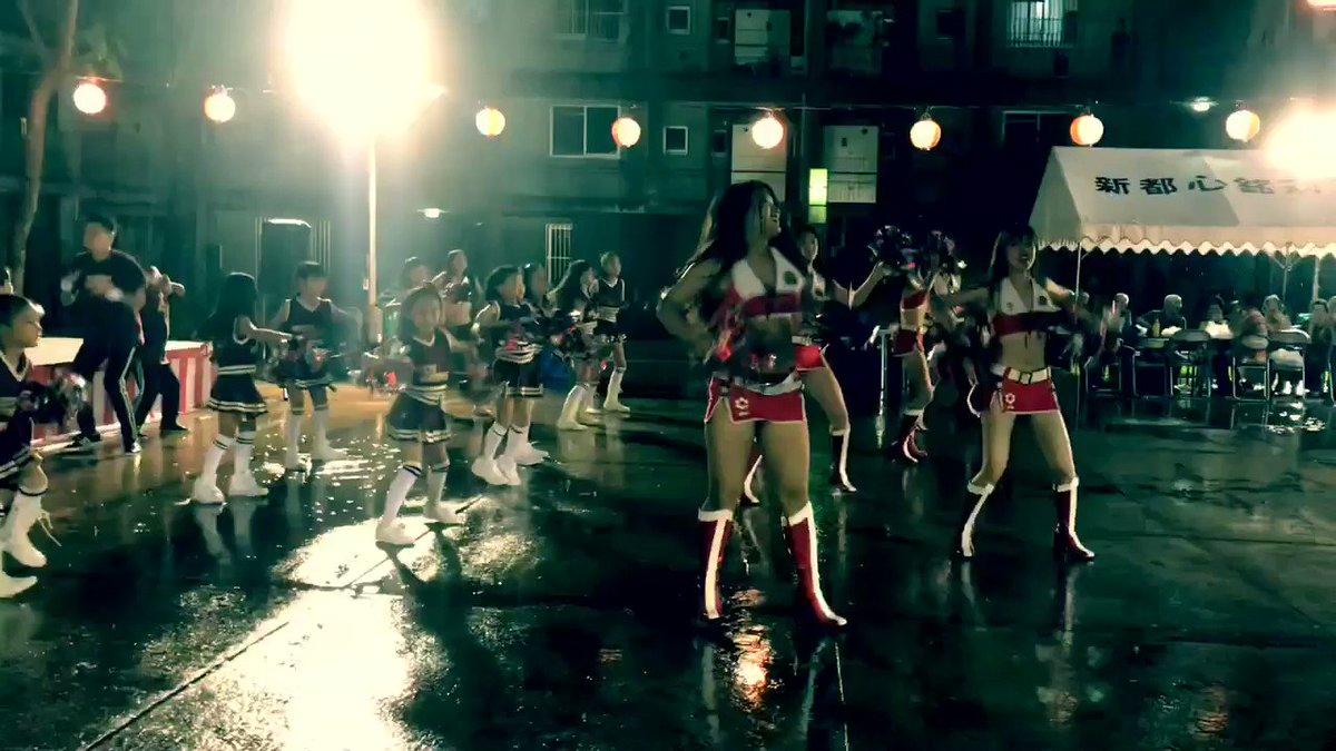 21日 #モンテディオ山形 戦でお披露目予定の新バージョンの一部をお見せします🤗SEXY & COOL ですよー🤟本日の銘苅団地納涼祭で少し踊ってみました!