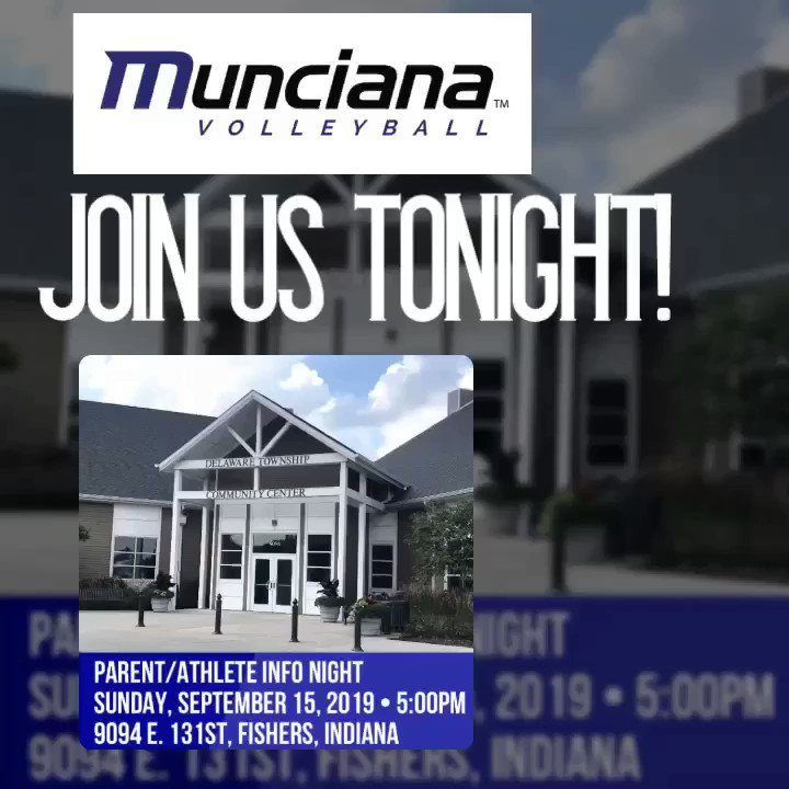 Find out more about Munciana's 45 Year History of Excellence Tonight! Fishers - Delaware Township Community Center #lifetimeexperience