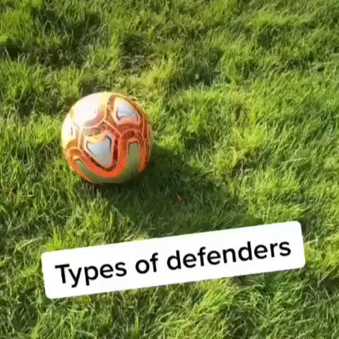 The different types of defenders.