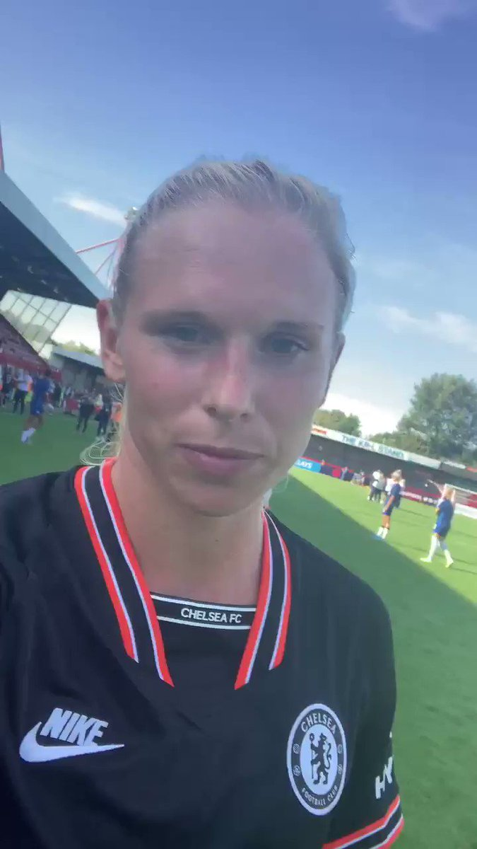 A little thank you from @JAndersson25 to our fans who travelled to support us today... 💙 #CFCW