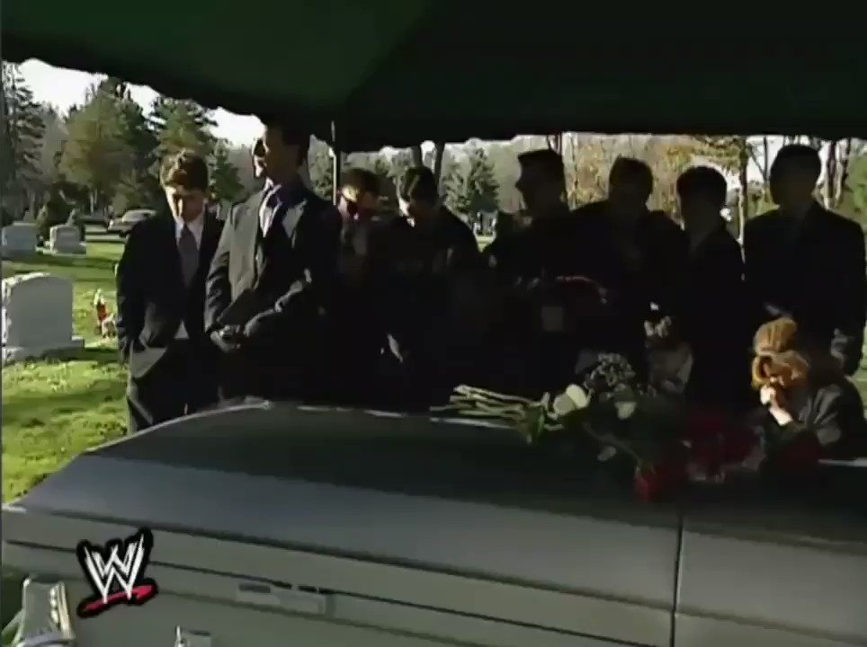 Throwback to when the Big Boss Man interrupted the funeral of the Big Show's father and stole the coffin